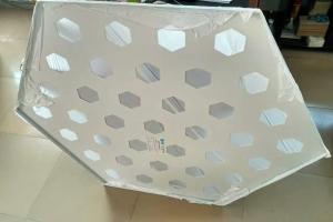 六边形铝单板冲六角形孔