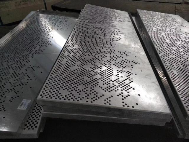 乱孔拼花铝单板