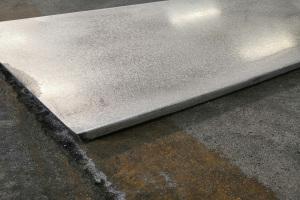 铝单板表面打磨细节