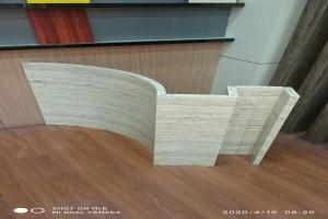 锥心三维瓦楞板刨槽折弯滚弧
