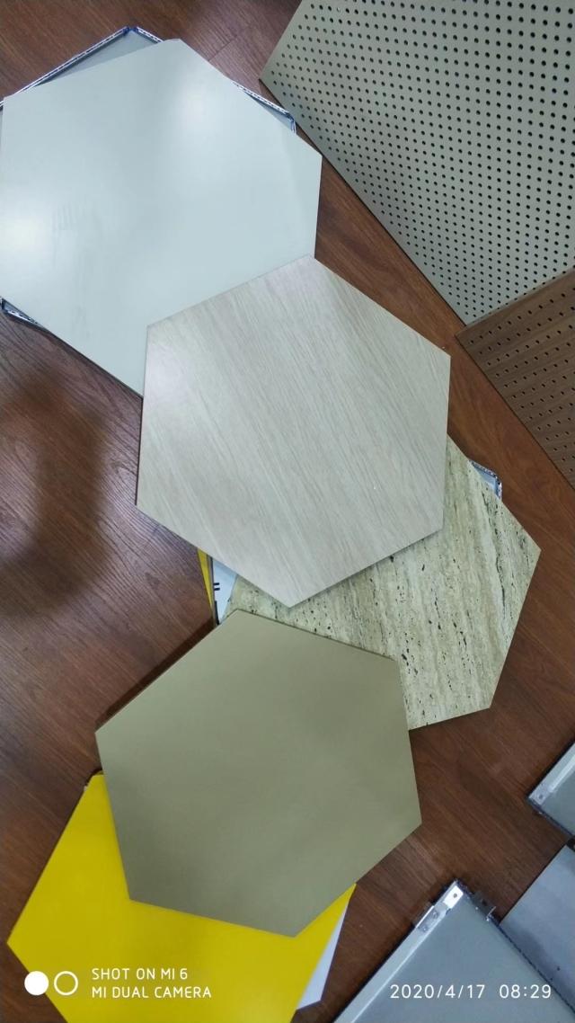 六角形三维复合瓦楞板