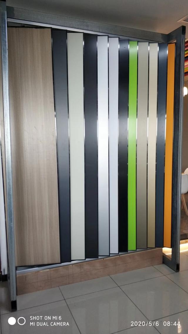 各种颜色复合三维瓦楞板