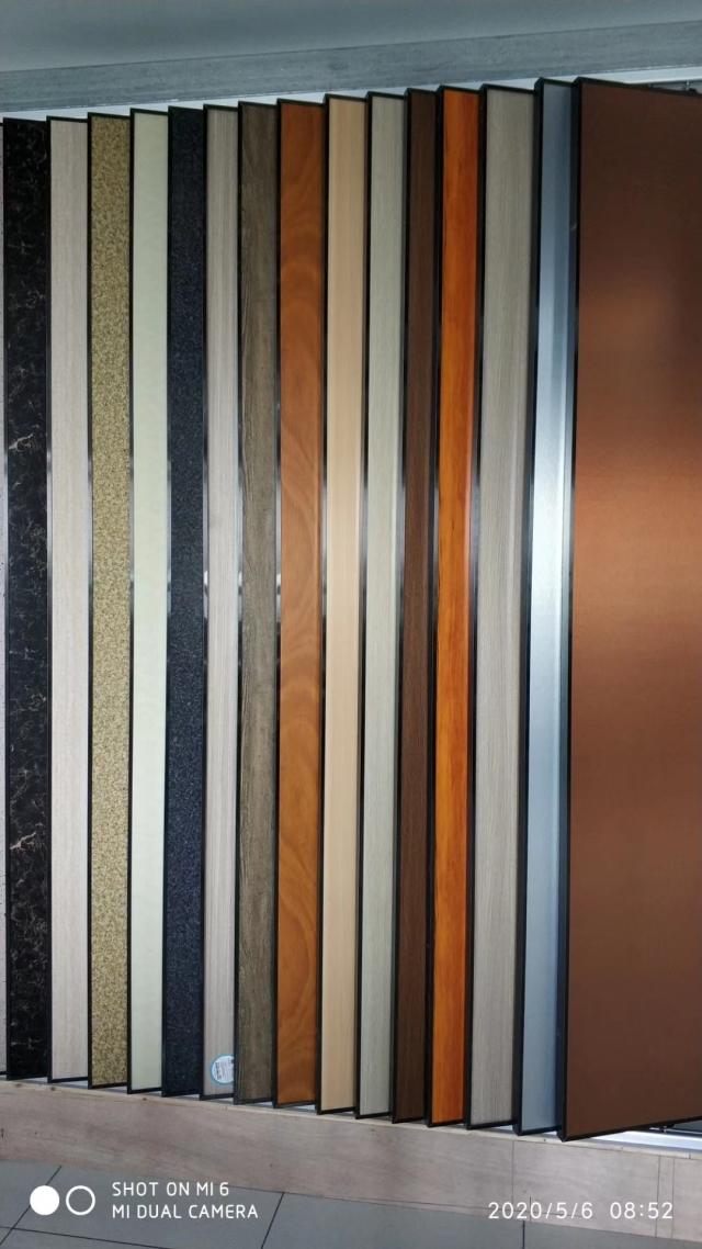 古铜/石纹/木纹/玫瑰金复合锥心三维瓦楞复合铝板
