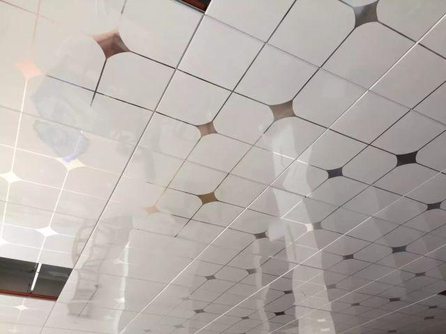 厕所卫生间吊顶印花光面铝扣板