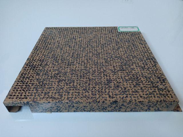 石纹转印勾搭冲孔铝单板