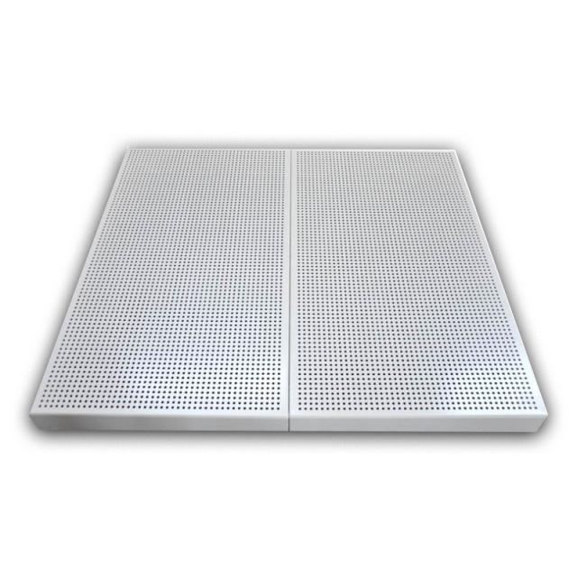 3.0mm孔径直排冲孔铝单板