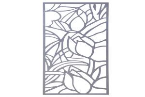 镂空铝雕花图案