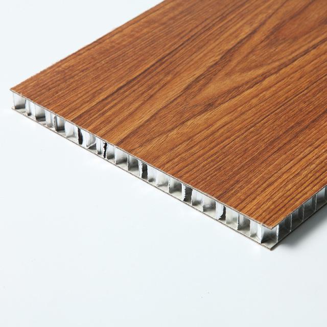木纹色铝蜂窝板