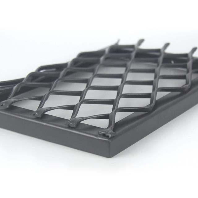 网芯在外式密拼铝拉网板