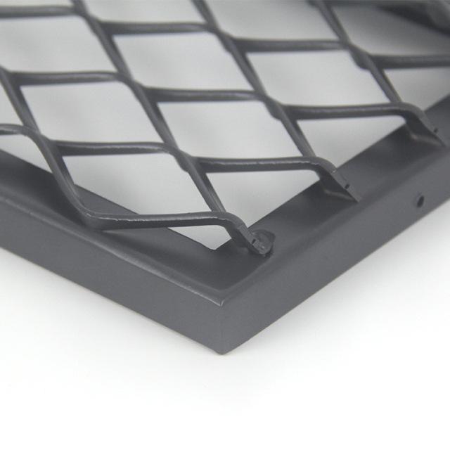 密拼形铝拉网板细节
