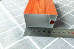 60*50*1.0mm凹槽型材铝方通