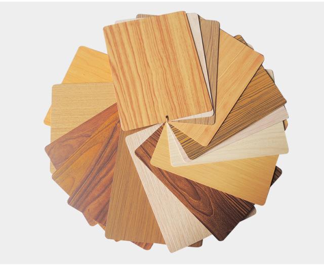 浅色黄木纹铝板