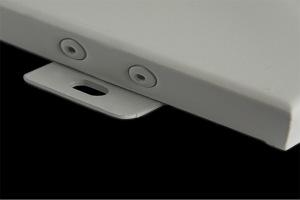 密拼铝单板沉头角码局部细节