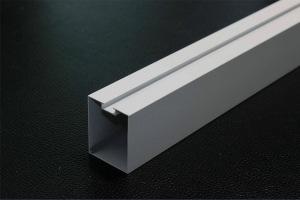 白色凹槽型材铝方通