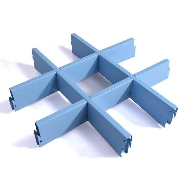 浅蓝色铝合金格栅