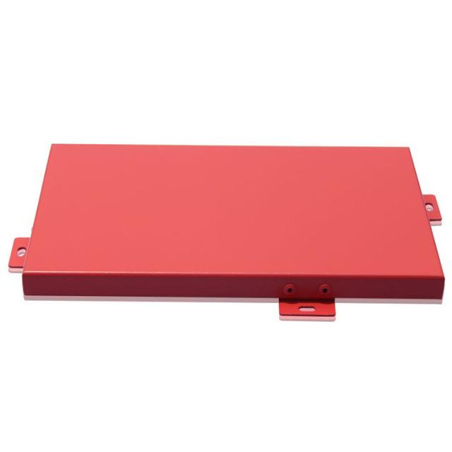 红色氟碳铝单板