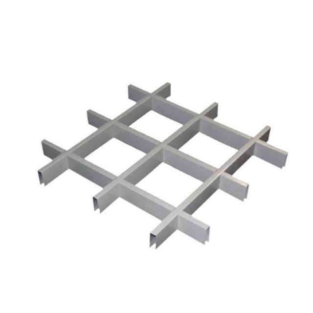 30*10规格白色铝格栅