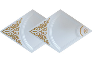 450*450家装印花铝扣板转角板
