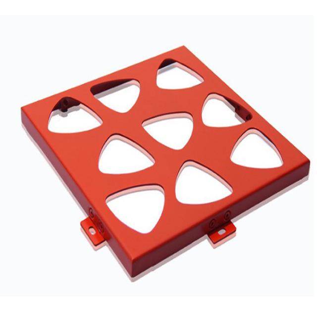 转子造型雕刻孔铝单板