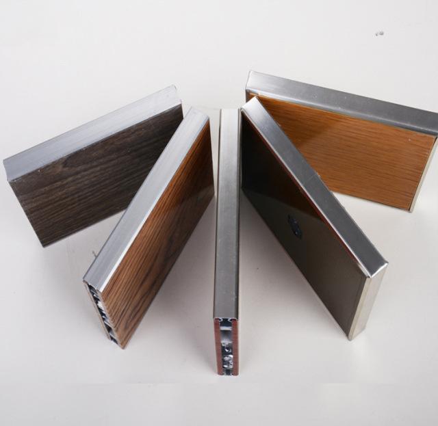 木纹铝蜂窝隔断