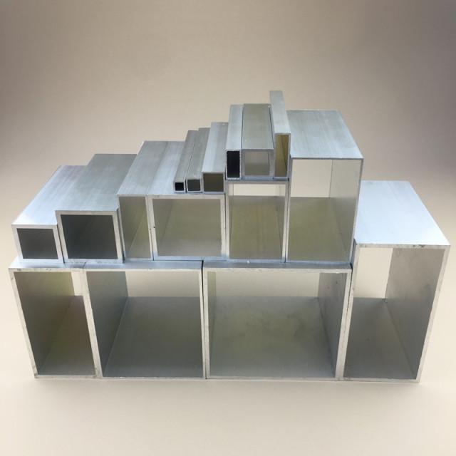各种规格厚度原色铝方管