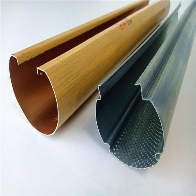 U槽型冲孔圆管铝方通