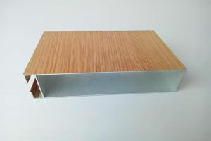 木纹色U形型材铝方通