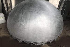 圆球形双曲铝单板