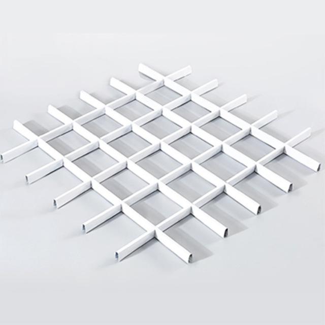 30*10mm白色铝格栅