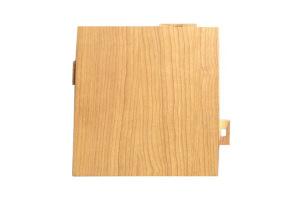 浅色黄木纹铝单板