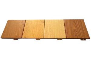 木纹色铝单板
