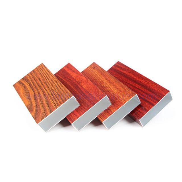 抽真空木纹铝方管