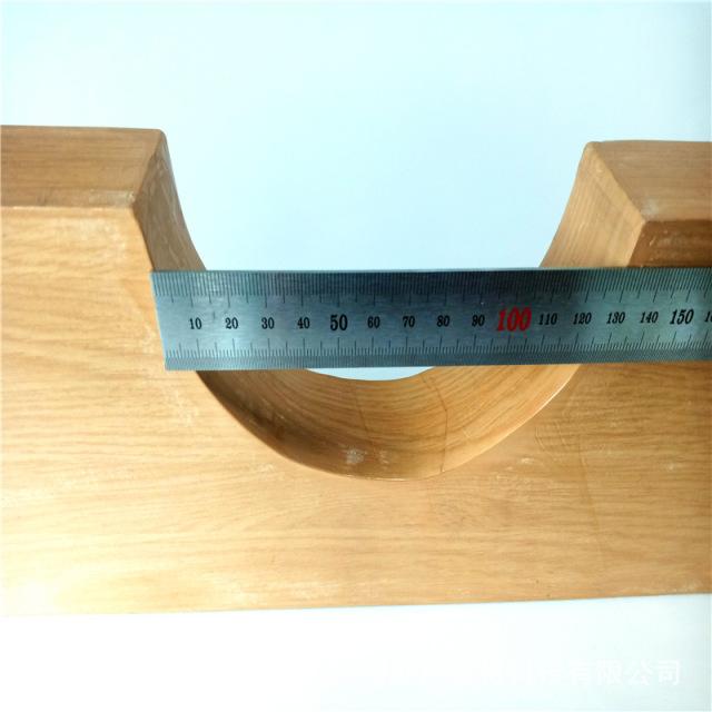 木纹铝方通挖半圆凹槽