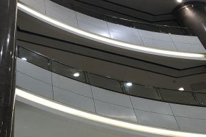 室内阳台弧形铝单板