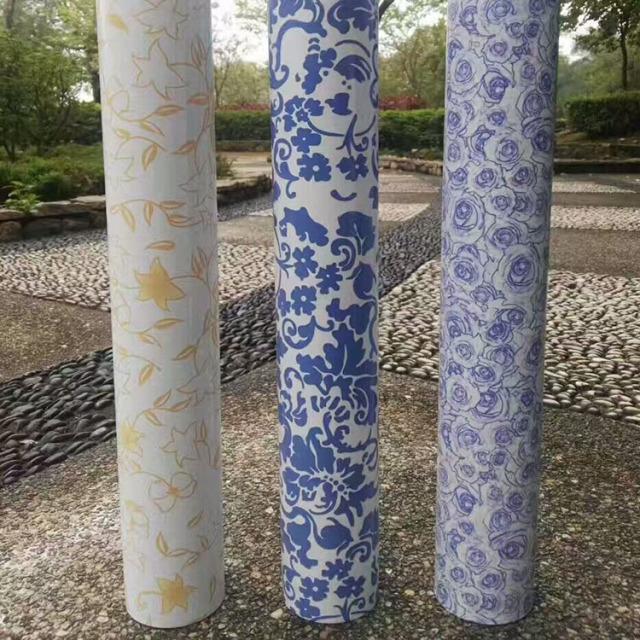 直径100mm青花瓷颜色铝圆管