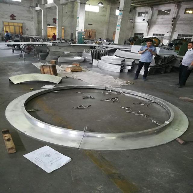 环形双曲铝单板圈圈