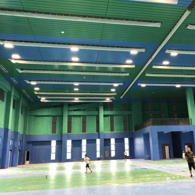 学校室内羽毛球场吊顶铝条扣
