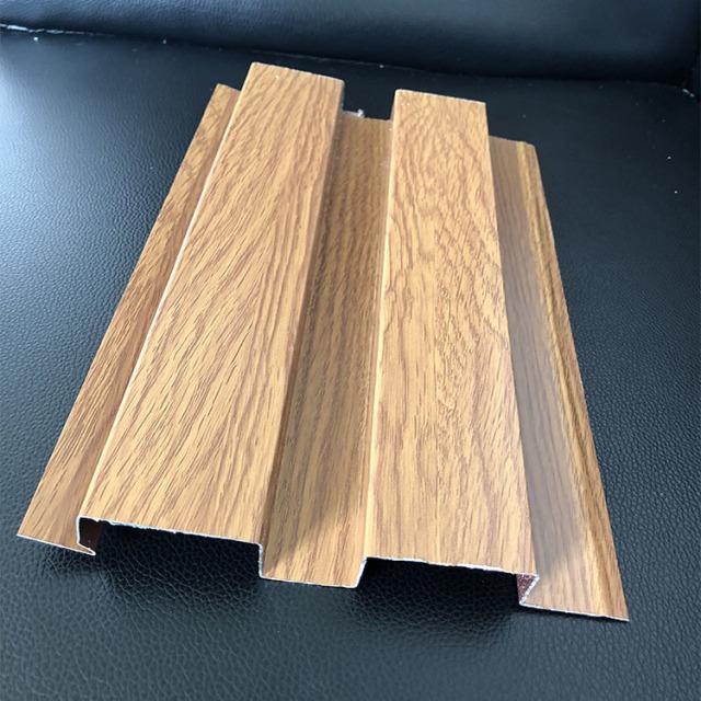 凹凸面滚涂木纹长城铝板