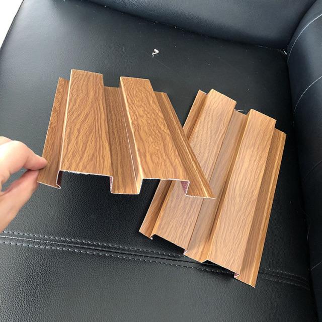 冷拉辊压成型滚涂木纹长城铝板