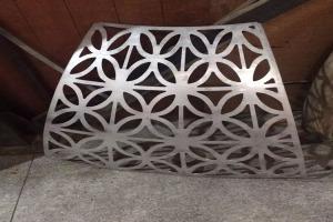 双曲弧形镂空铝单板