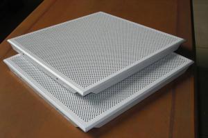 方形冲孔铝扣板