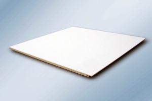 白色平面铝扣板