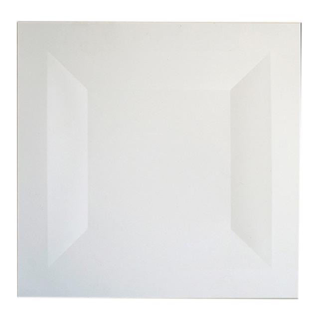 白色井形铝扣板