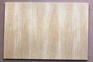 柚木色木纹铝扣板