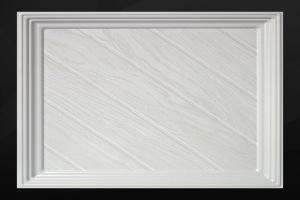 凹型木纹铝扣板