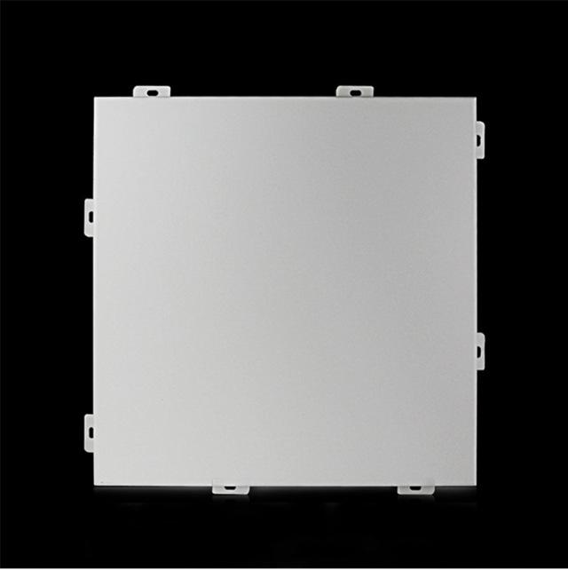 银灰色氟碳铝单板