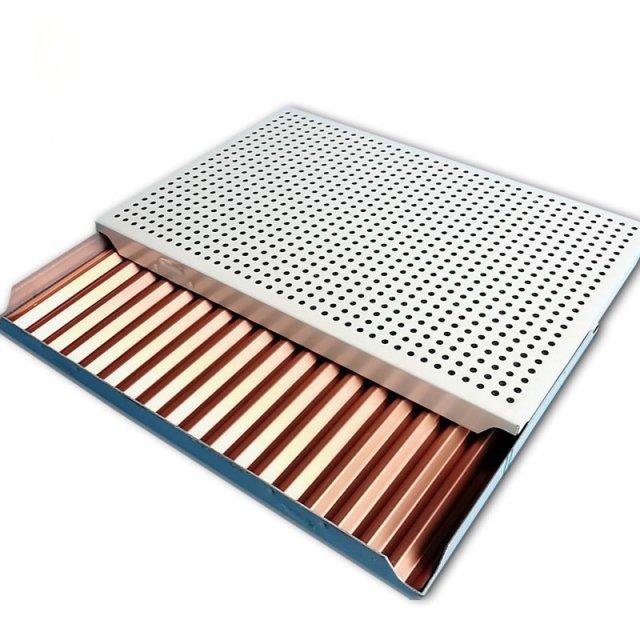扣板形式冲孔铝瓦楞板