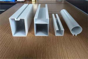 各种规格凹槽铝方通和铝圆管