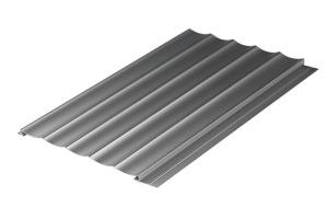 银灰色波浪墙面铝型材