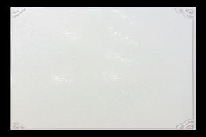 菊花图案银灰铝扣板